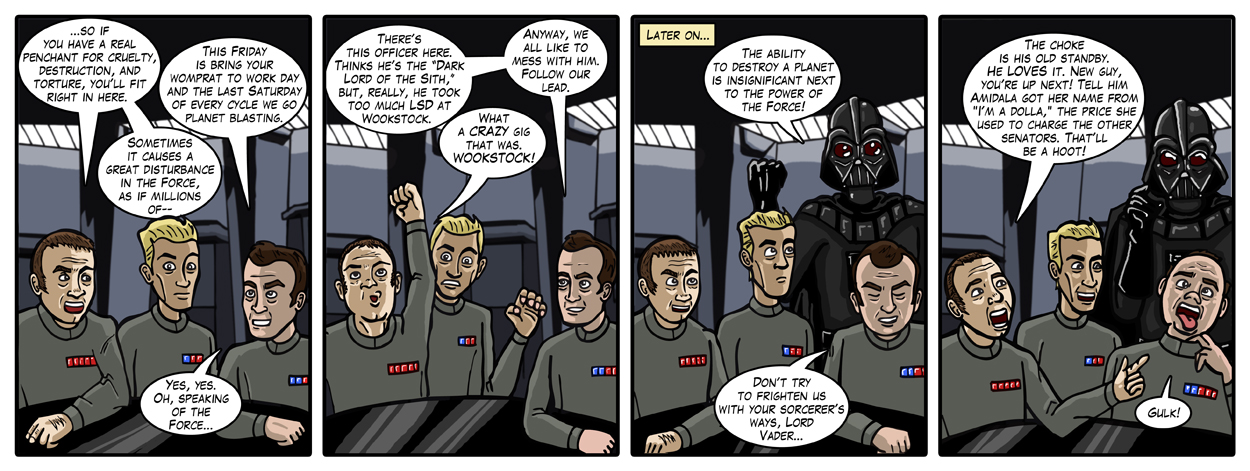 Many Bothans Died To Bring You This Comic